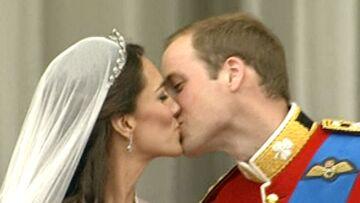 Neuf millions de Français devant le baiser de Kate et William