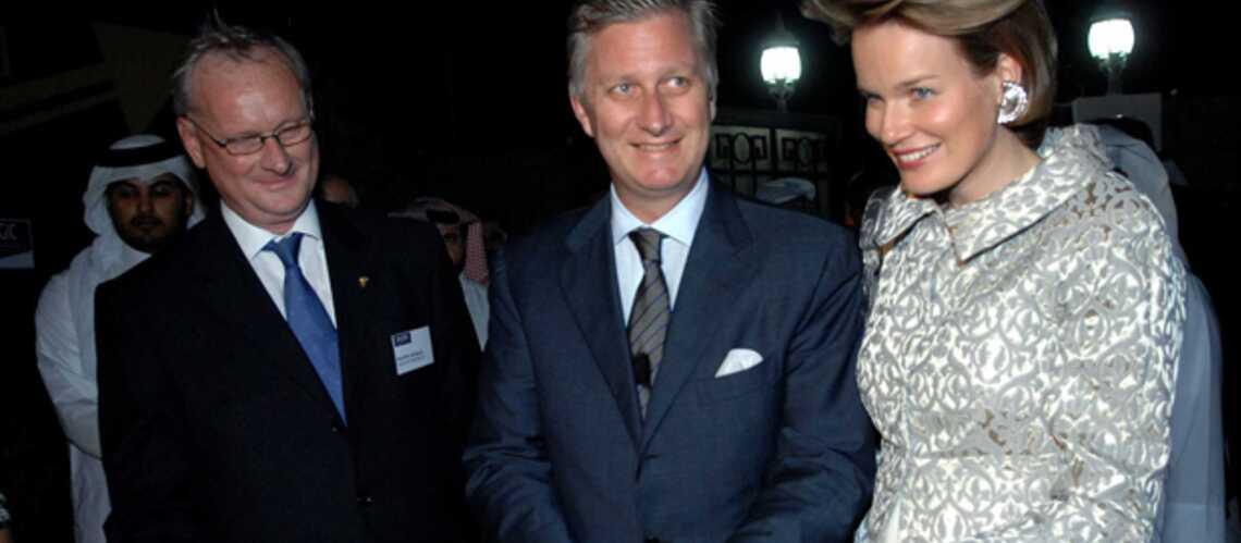 Mathilde et Philippe de Belgique reçus en grandes pompes au Qatar