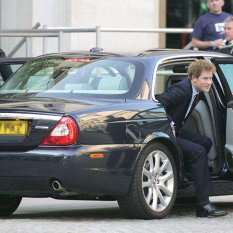 Le prince Harry dépasse les limites
