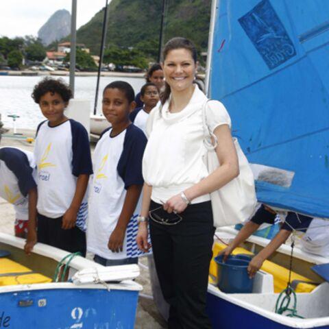 A Rio, Victoria de Suède s'offre une régate côtière