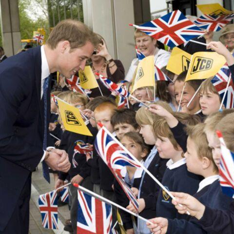 Le prince William se fait des cheveux