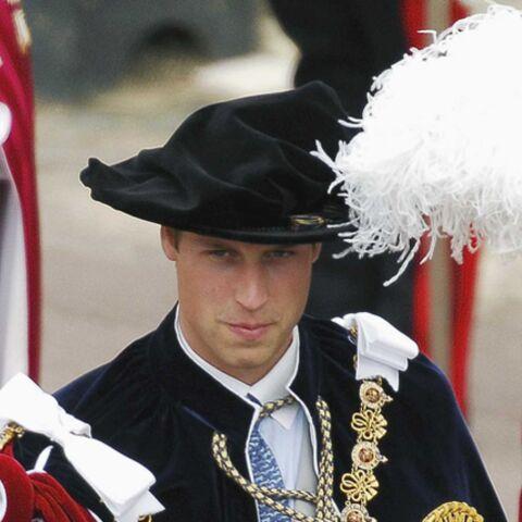 Le prince William fait chevalier de l'Ordre de la Jarretière