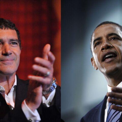 Antonio Banderas-Barack Obama, même combat!