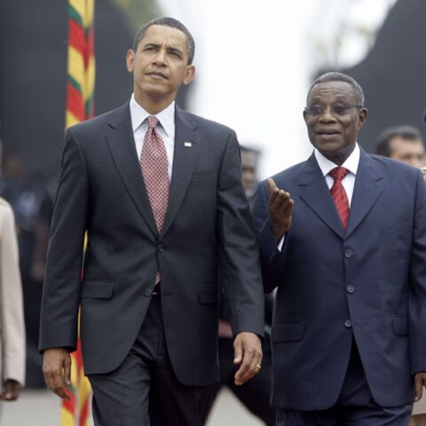 Barack Obama enchante le Ghana