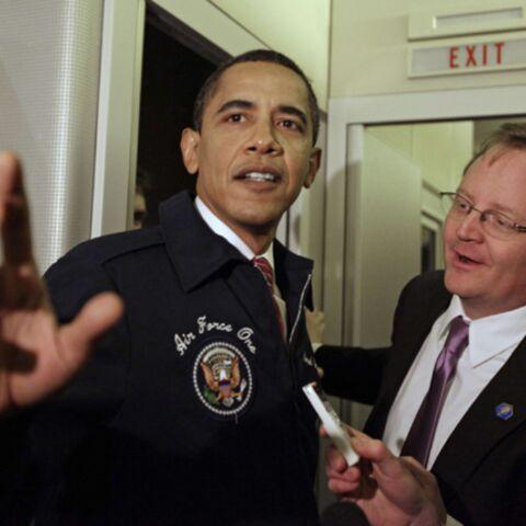 Premier voyage en Air Force One pour Barack Obama