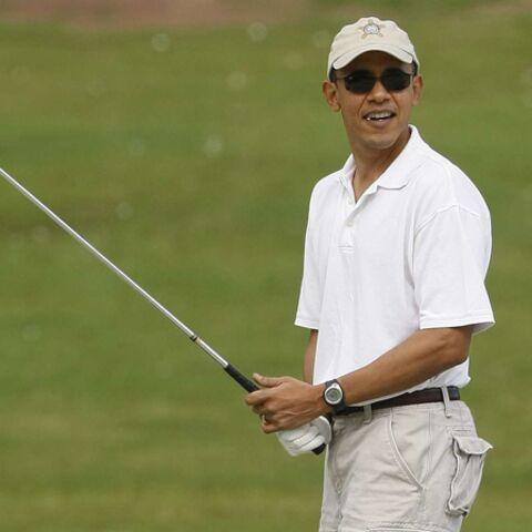 Barack Obama invite une femme dans son club