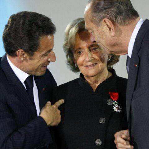 Nicolas Sarkozy a épinglé Bernadette Chirac devant son mari