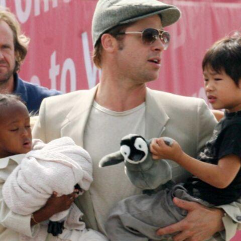 Brad Pitt et Angelina Jolie ont droit aux alloc'