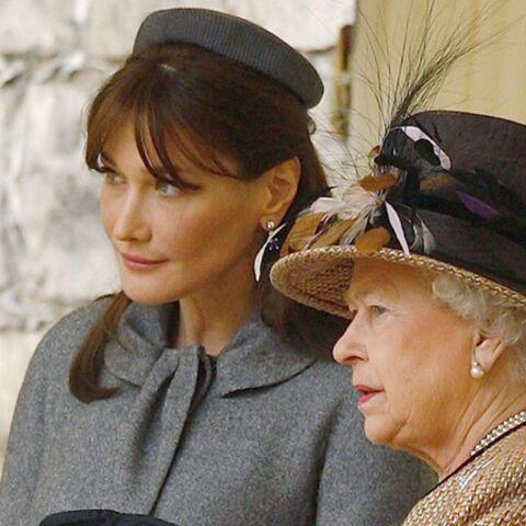 Carla Bruni-Sarkozy détrône la Queen