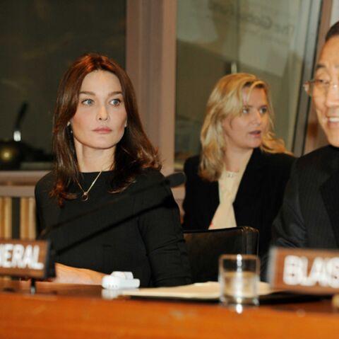 Carla Bruni-Sarkozy: son combat pour les futures mères séropositives