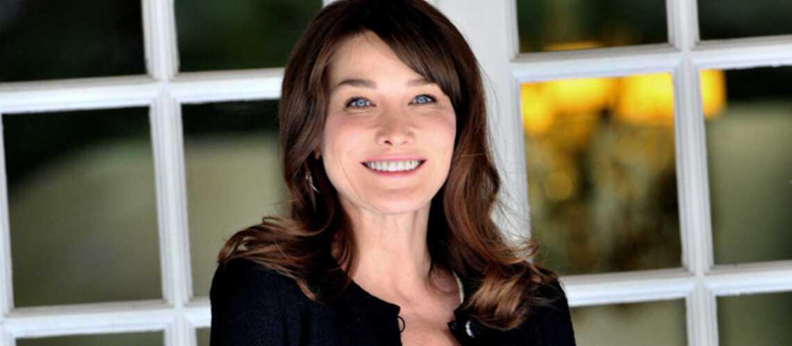 Carla Bruni-Sarkozy: le prénom de son enfant