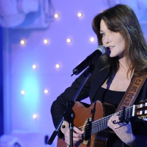 Le dernier album de Carla Bruni-Sarkozy est double disque d'or