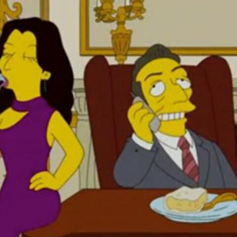 Vidéo: Carla Bruni et Nicolas Sarkozy rient jaune