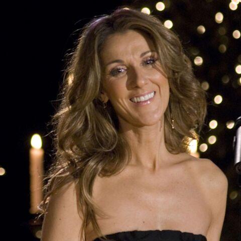Céline Dion présente ses jumeaux