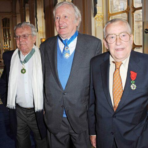 Claude Rich, Michel Duchaussoy et José Artur, distingués