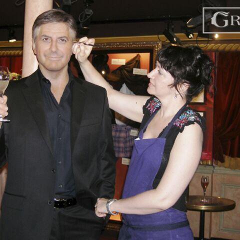 George Clooney entre au Grévin