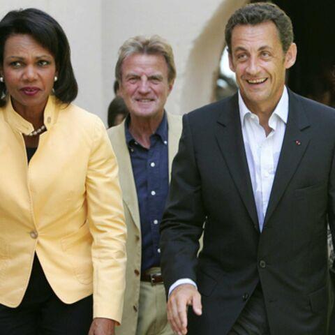 Condoleezza Rice est arrivée au Fort de Brégançon