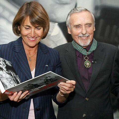 Dennis Hopper devient commandeur de l'Ordre national des Arts et des Lettres