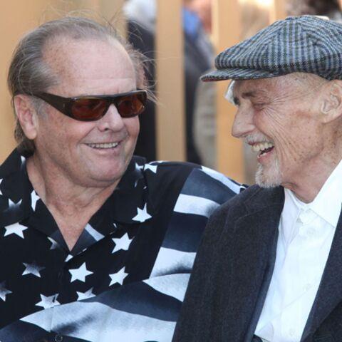 Dennis Hopper reçoit son étoile sur Hollywood Boulevard