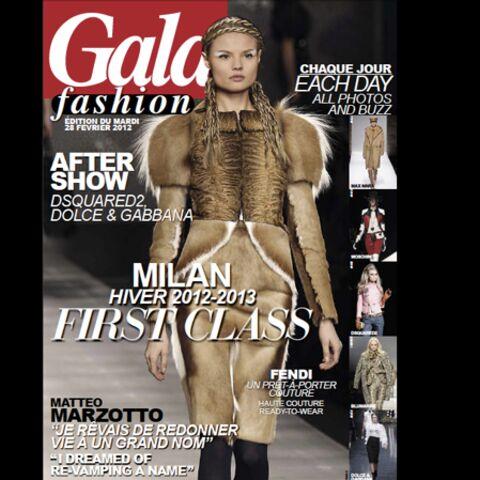 Feuilletez l'édition du jour de Gala Fashion! (28/02/2012)