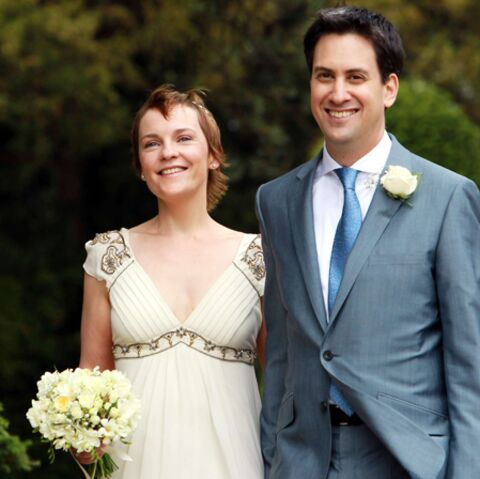 Ed Miliband, just married