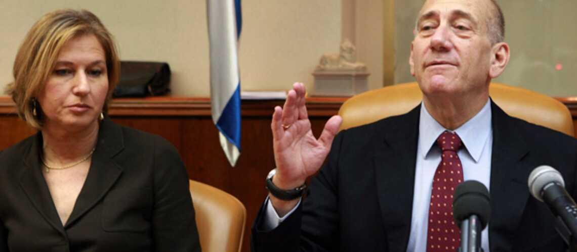 Israël: Ehud Olmert démissionne