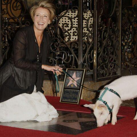 Emma Thompson, une étoile sur le Walk Of Fame