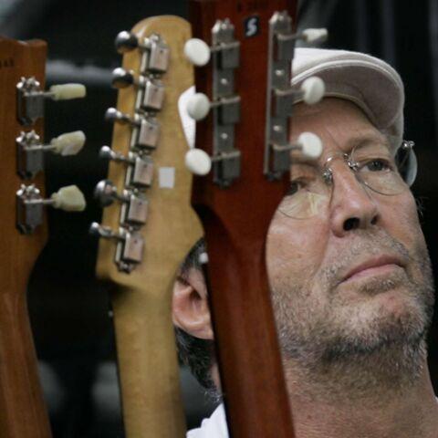 Eric Clapton, (momentanément) rangé des guitares