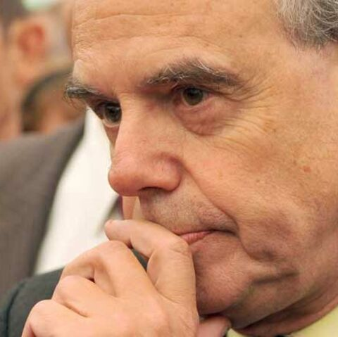 Frédéric Mitterrand rend hommage à Jocelyn Quivrin