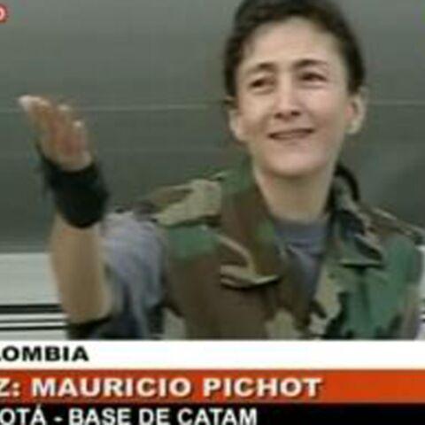 Ingrid Betancourt: la vidéo de sa libération