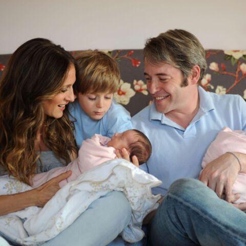 Sarah Jessica Parker, maman de jumelles: première photo!