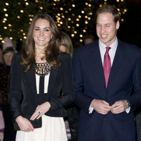 Première sortie officielle pour Kate Middleton et William