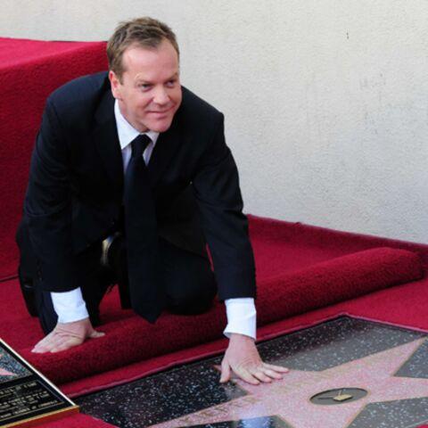 Kiefer Sutherland accède au Walk Of Fame