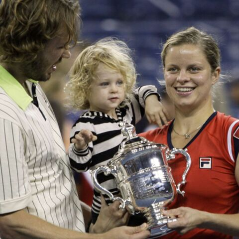 Kim Clijsters: le triomphe d'une jeune maman