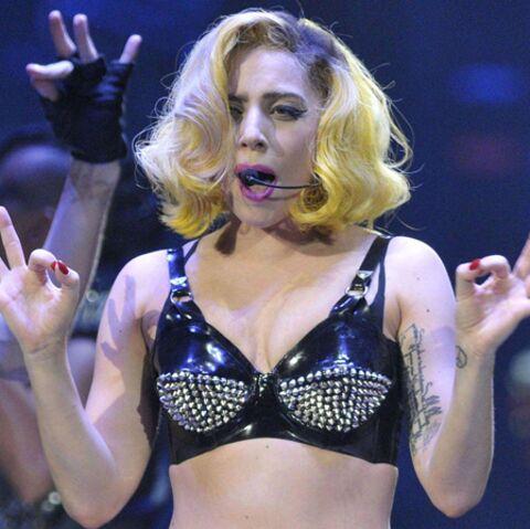Lady Gaga bloquée par le verglasglas