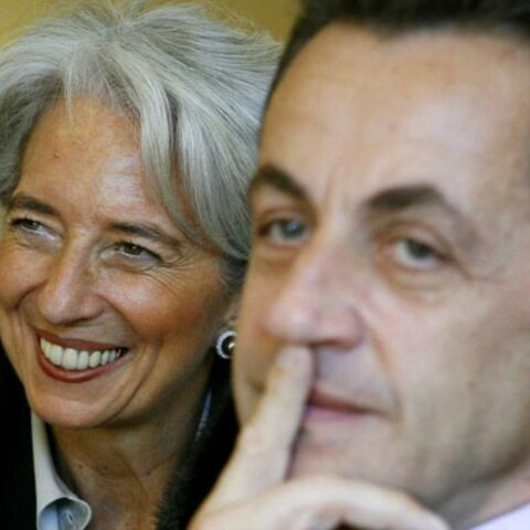 Sarkozy garde Lagarde