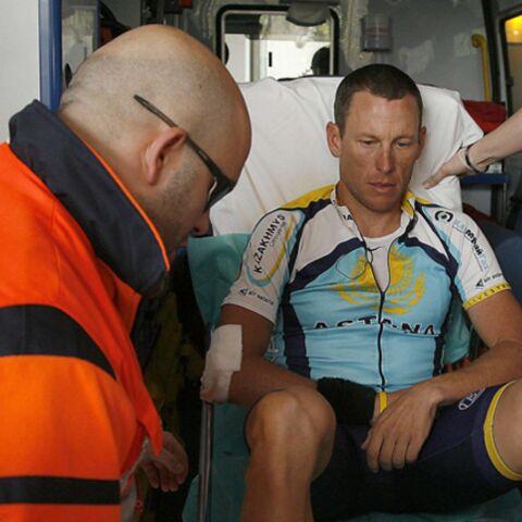 Lance Armstrong brisé dans son élan
