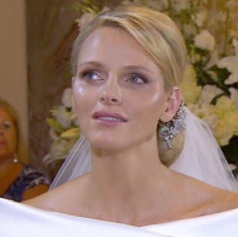 Vidéo – Mariage à Monaco: les larmes de Charlène