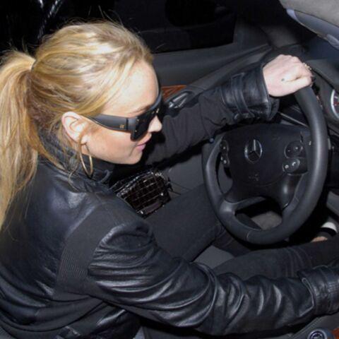 Lindsay Lohan n'a pas su choisir entre boire et conduire