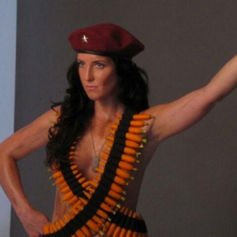 Lydia Guevara à poil pour la Peta