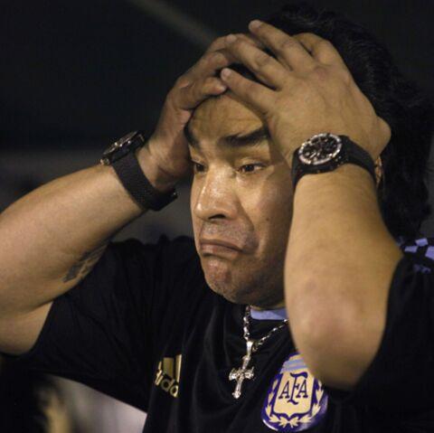 Diego Maradona: mordu par son chien!