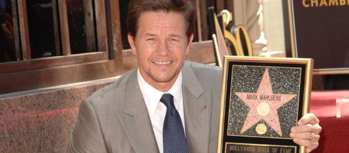 Mark Wahlberg a son étoile sur Hollywood Boulevard