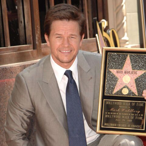 Mark Wahlberg a son étoile sur Hollywood Boulevard