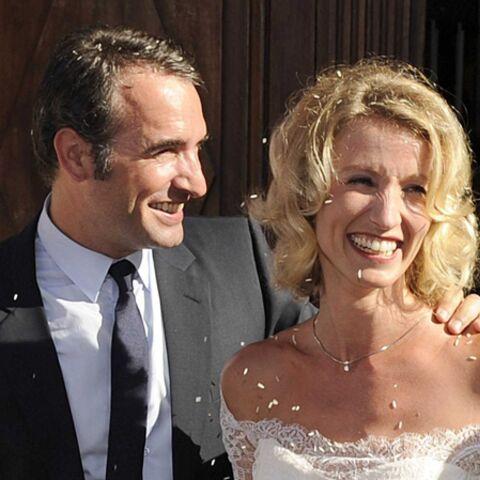 PHOTOS – Alexandra Lamy et Jean Dujardin: vive les mariés!