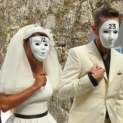 Emma de Caunes s'est mariée masquée
