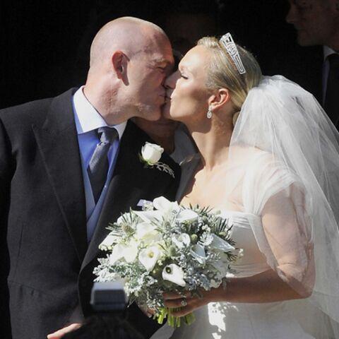 Toutes les photos du mariage de Zara Phillips!