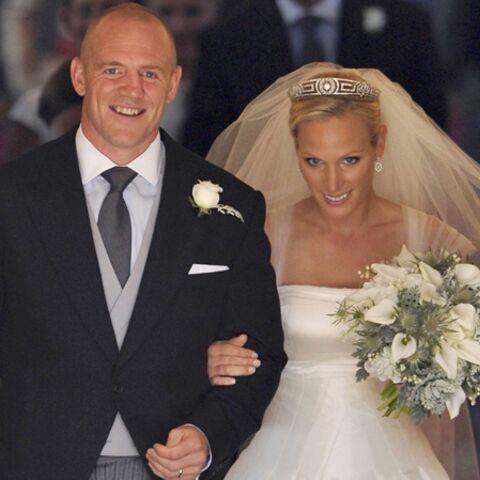 Zara Phillips et Mike Tindall sont mariés