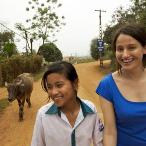 Exclusif: Marie Gillain marraine et ambassadrice de l'ONG Plan