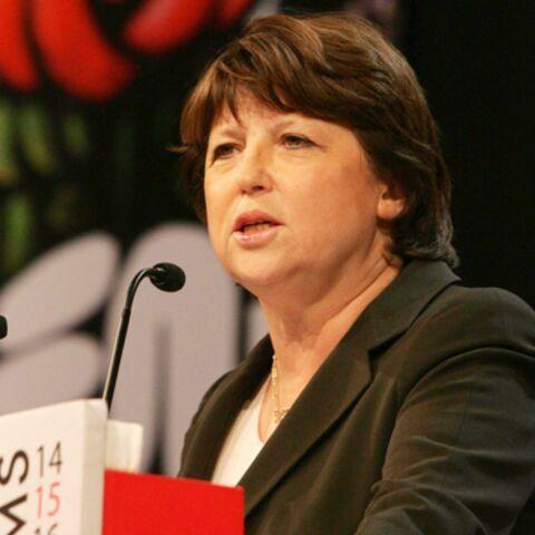 Martine Aubry candidate au poste de premier secrétaire du PS