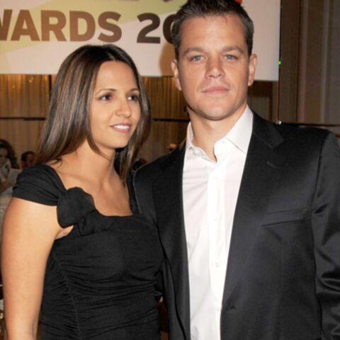 Matt Damon: bientôt quatre femmes à la maison!
